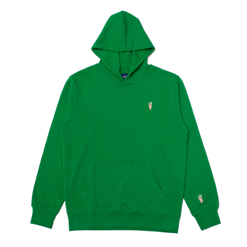 ONE HIT PATCH HOODIE GREEN