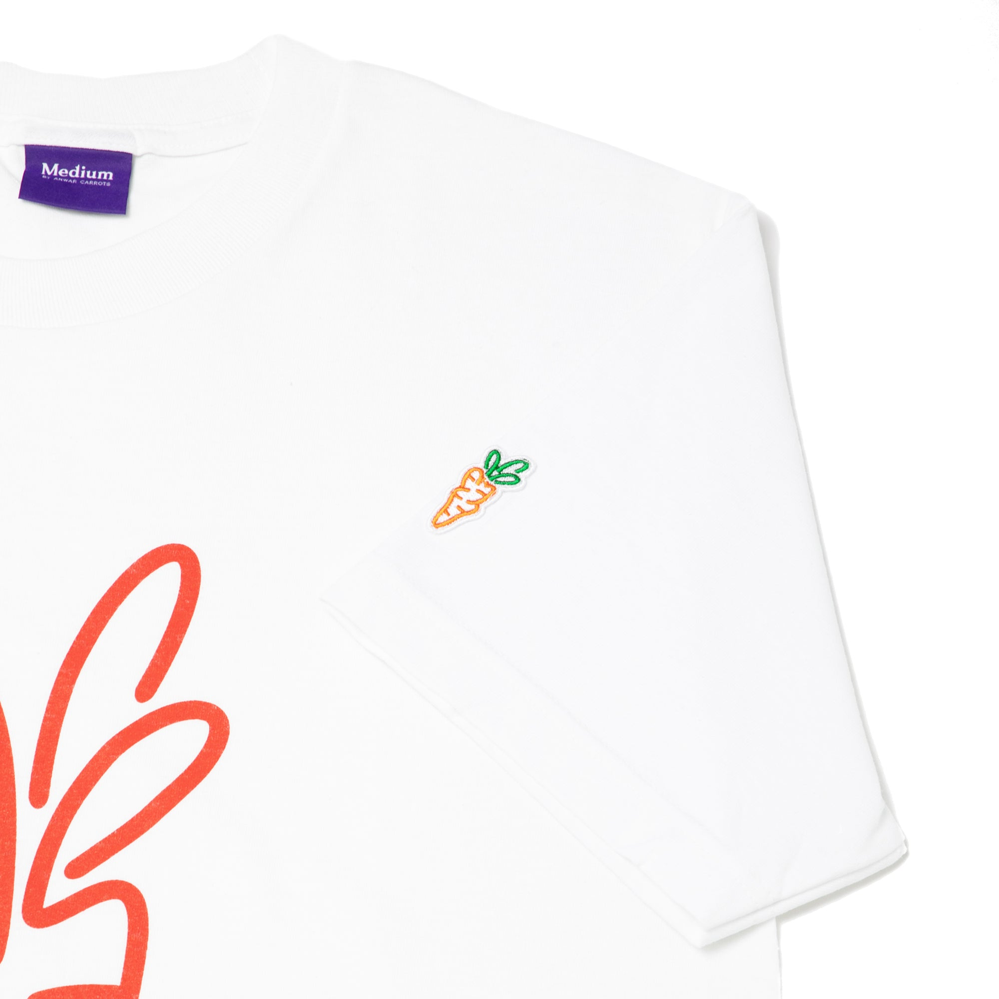 CARROTS SIGNATURE T-SHIRT WHITE