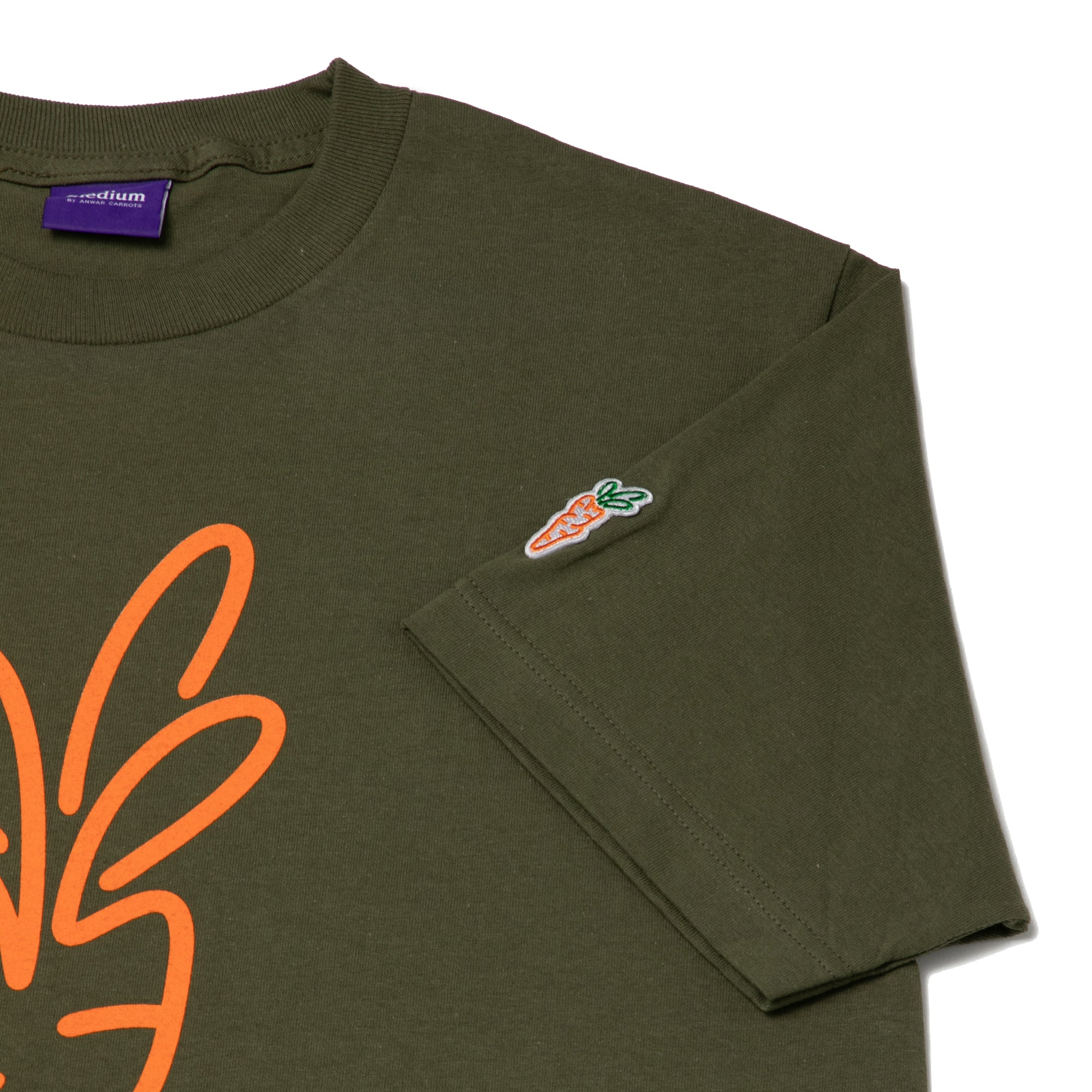 CARROTS SIGNATURE T-SHIRT OLIVE