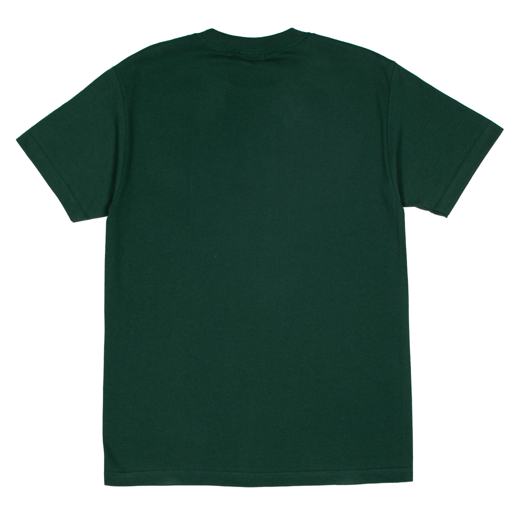 WORDMARK T-SHIRT GREEN