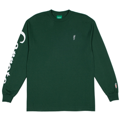 SIGNATURE CARROT LONG SLEEVE GREEN