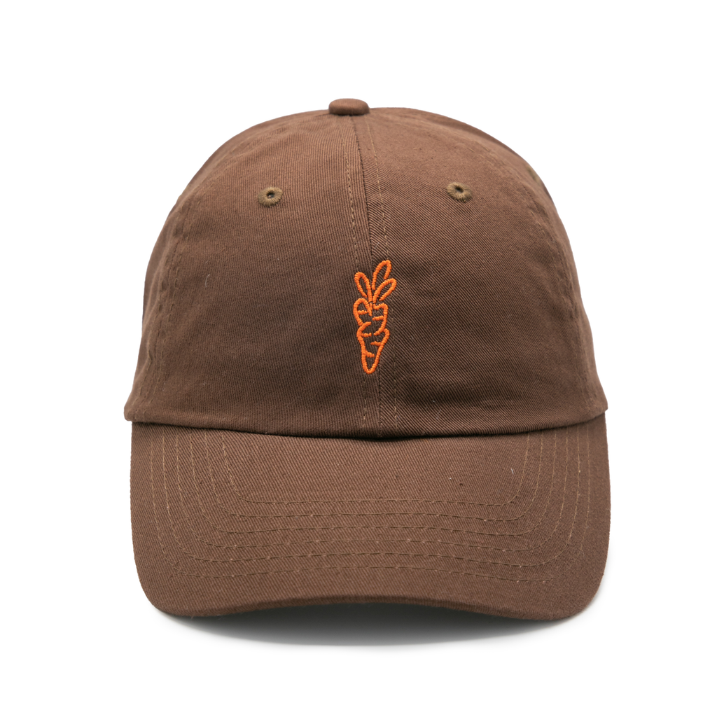 SIGNATURE CARROT DAD HAT BROWN