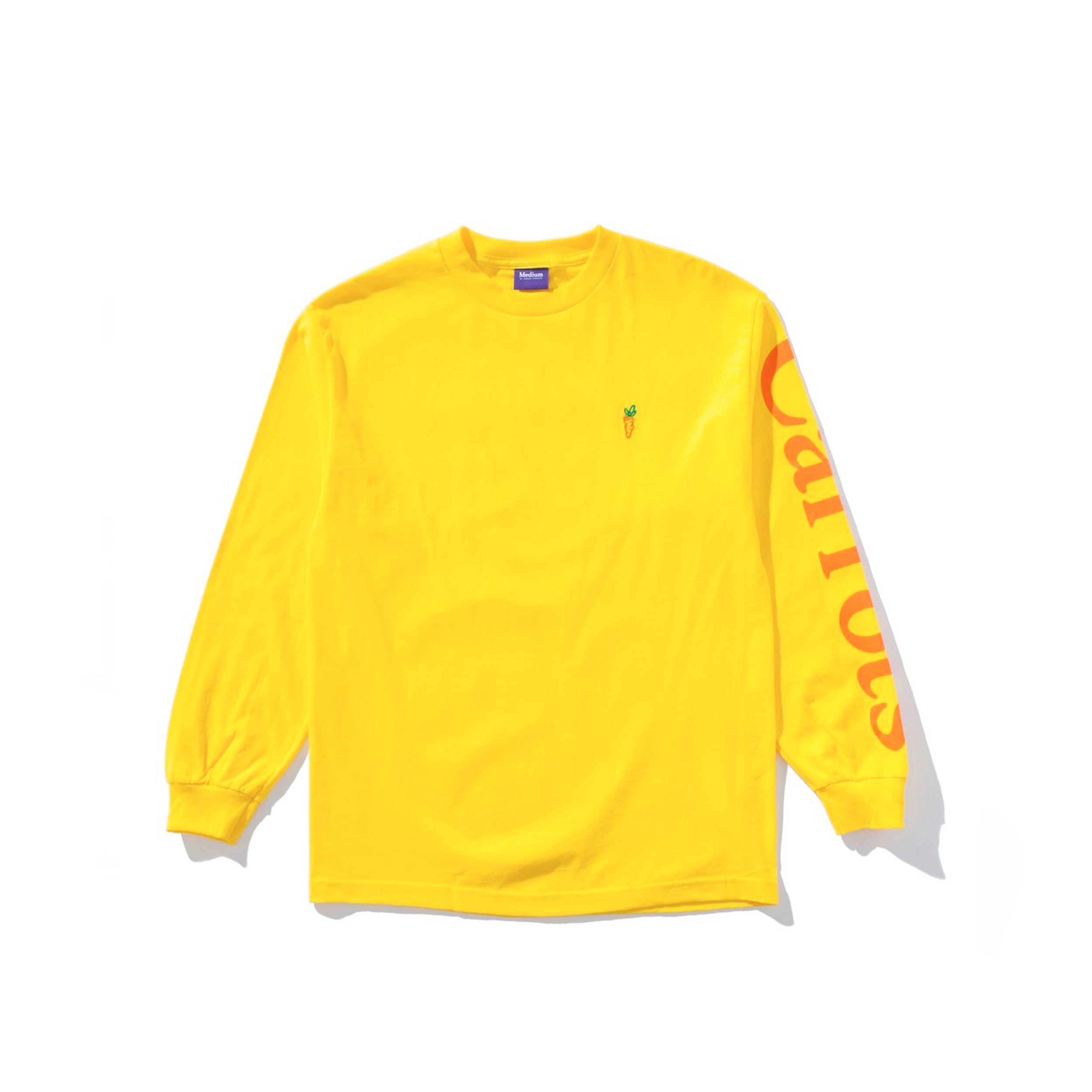 LOGO LONG SLEEVE YELLOW