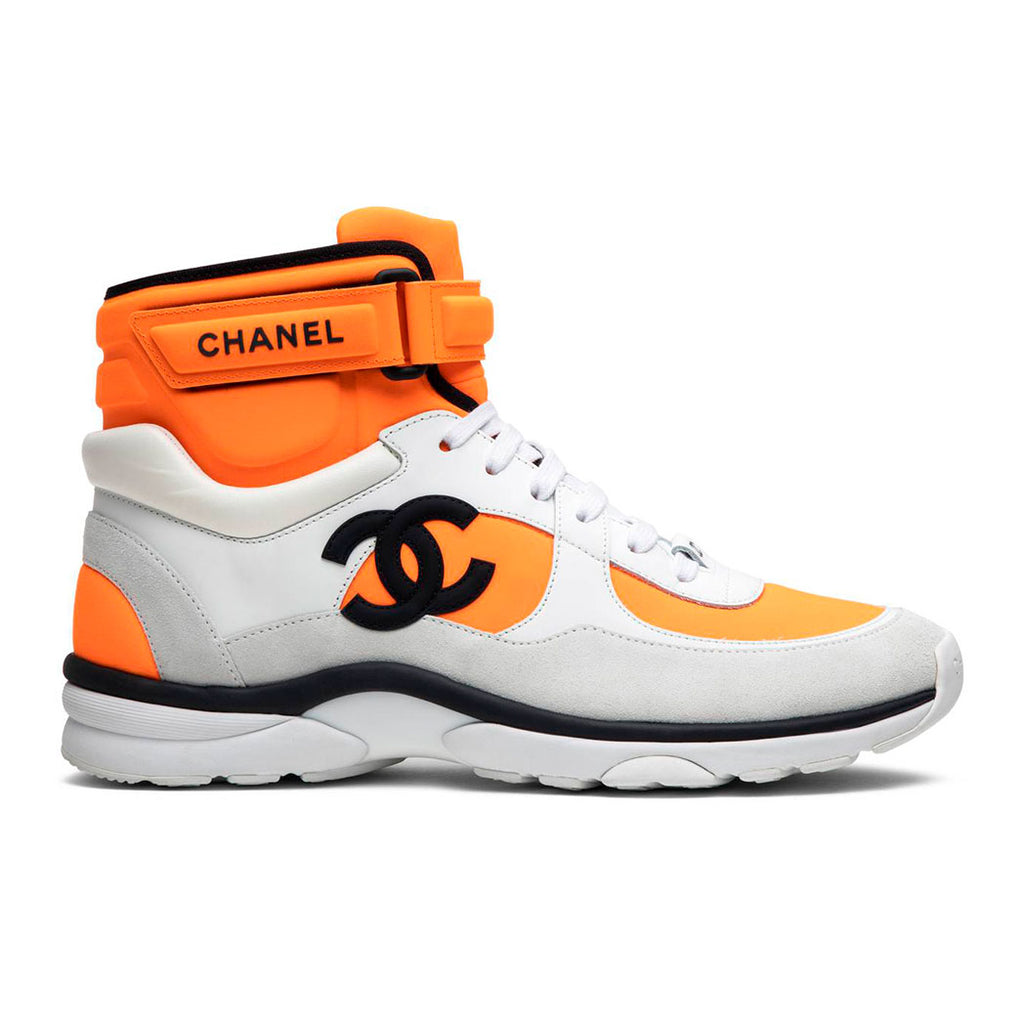 Chanel High Top 'Orange White'