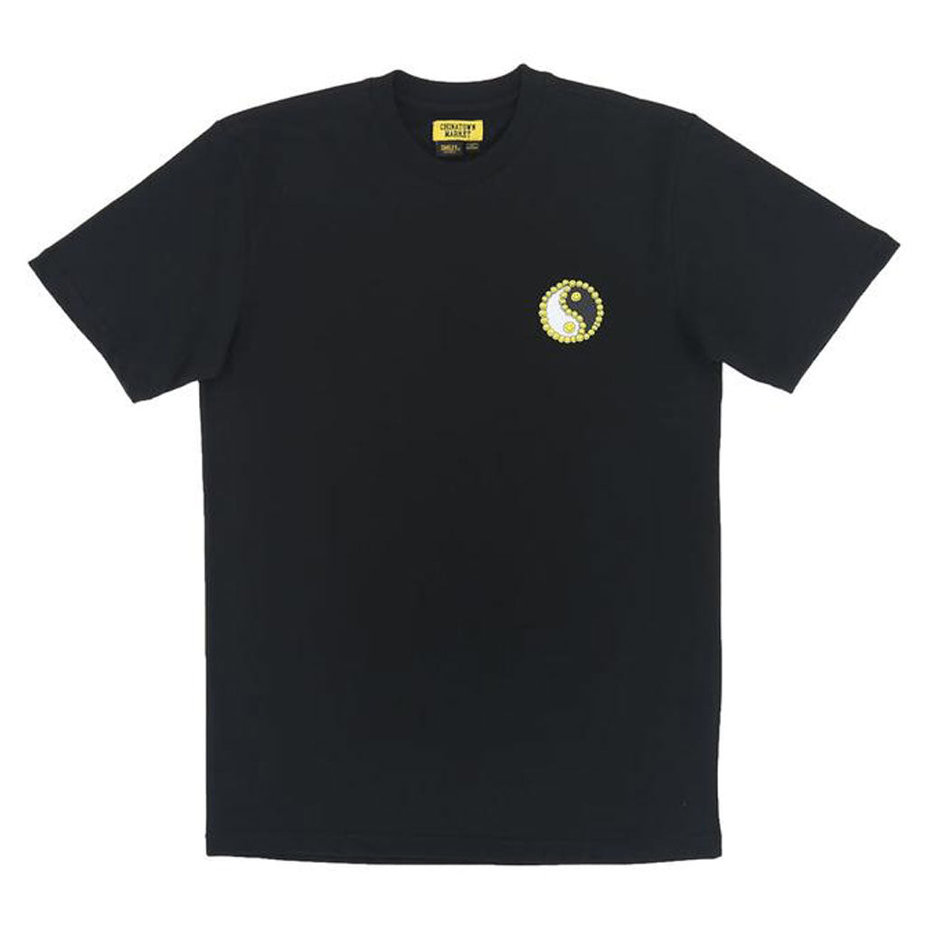 PEACE SMILEY T-SHIRT BLACK