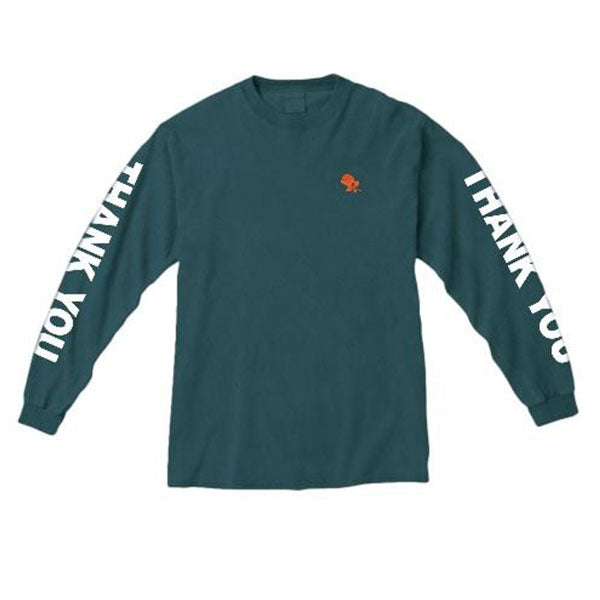 THANK YOU LONG SLEEVE GREEN