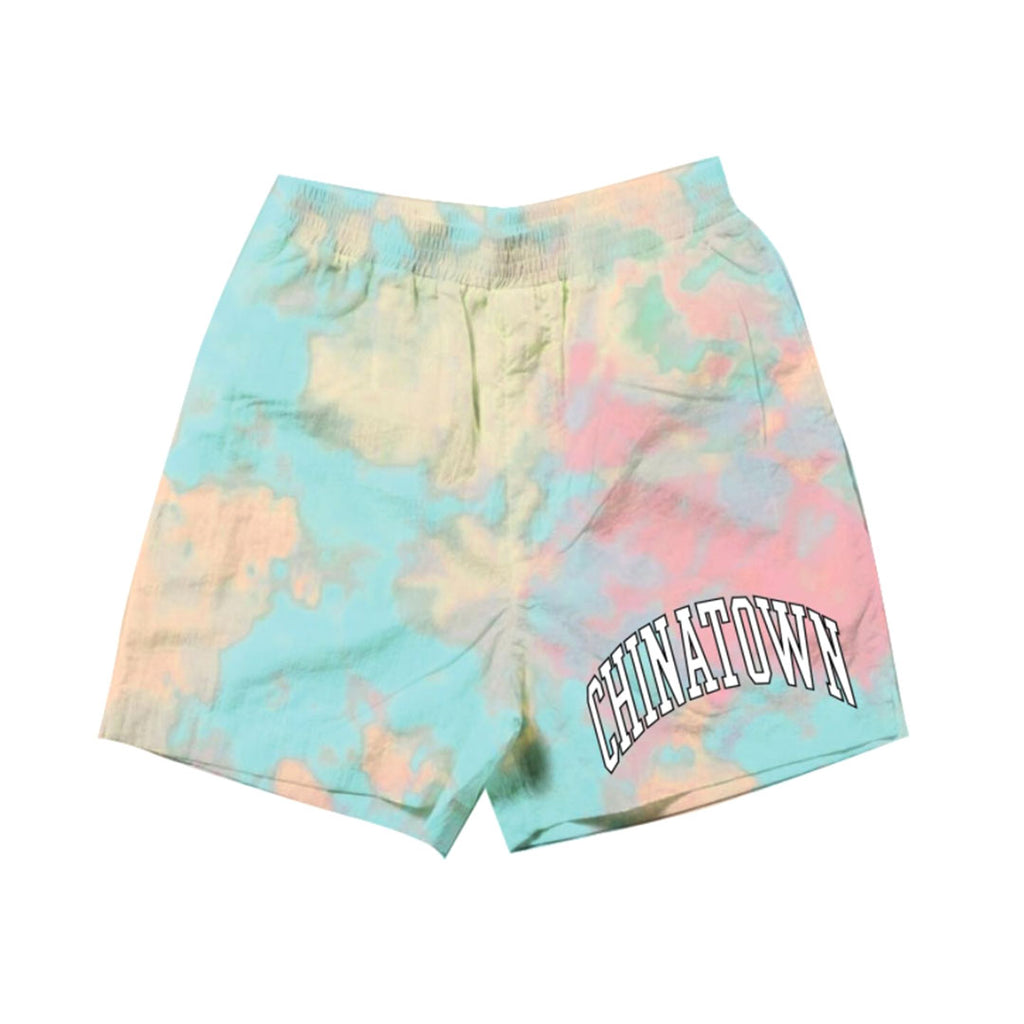 CHINATOWN MARKET ARC LEFT SWEATSHORTS