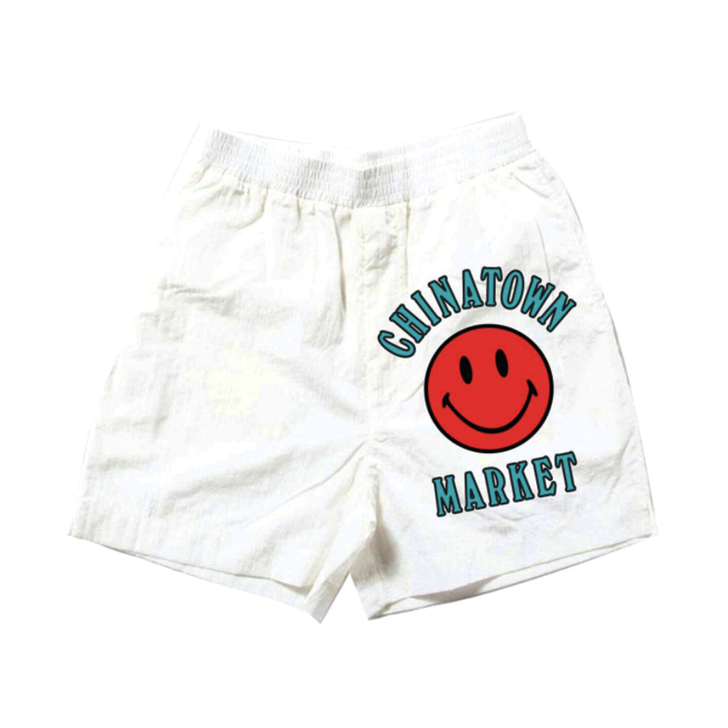 CHINATOWN MARKET SMILEY MULTI SWEATSHORT