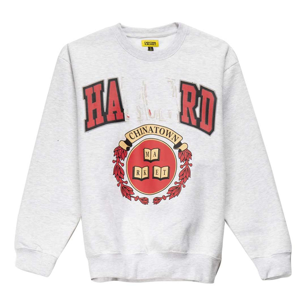 CHINATOWN MARKET HARD CREWNECK GREY
