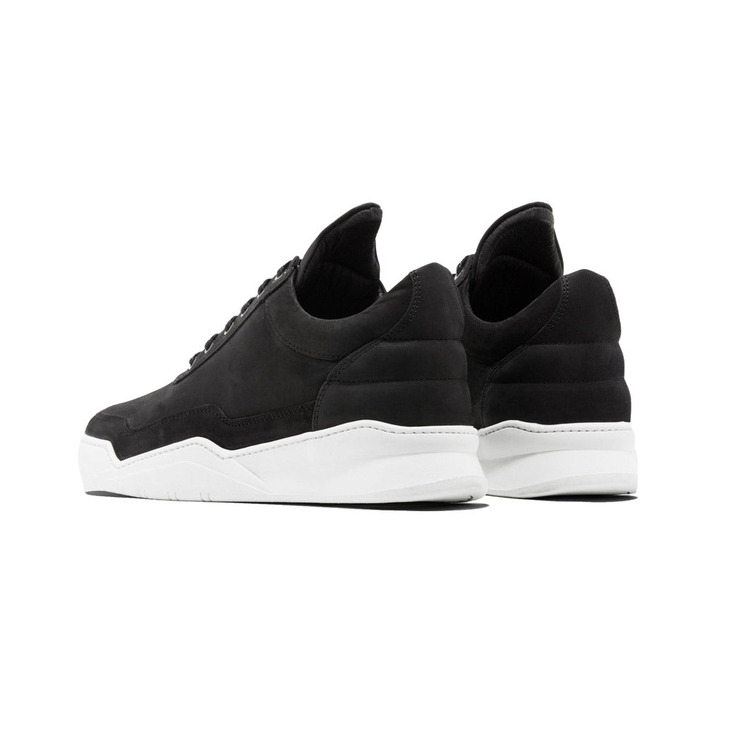 Filling Pieces Ghost Nubuck Black Back