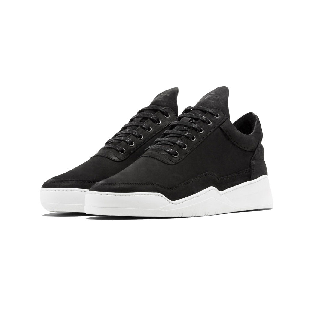 Filling Pieces Ghost Nubuck Black Angled