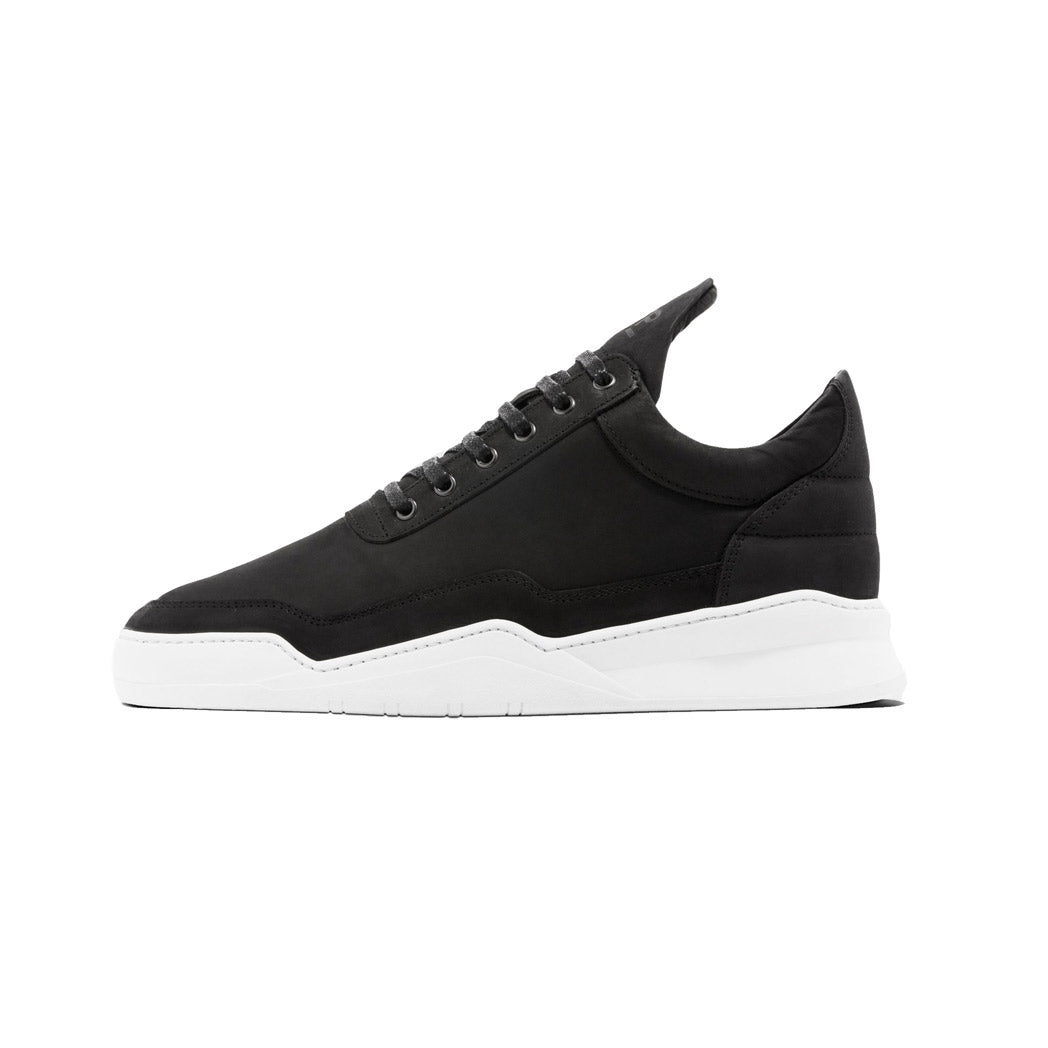 Filling Pieces Ghost Nubuck Black Left