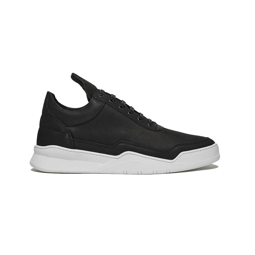 Filling Pieces Ghost Nubuck Black Right