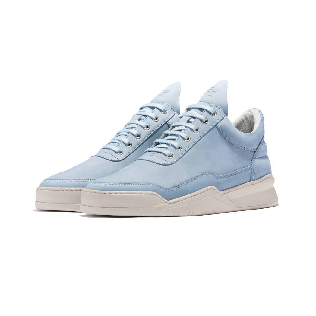 Filling Pieces Low Top Ghost Lane Sky Blue Angled