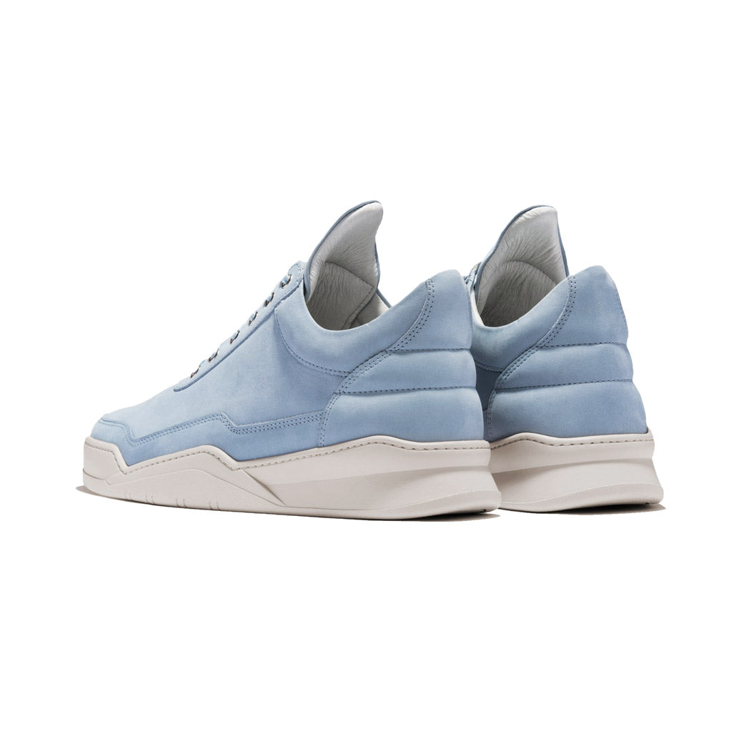 Filling Pieces Low Top Ghost Lane Sky Blue Bottom Angled