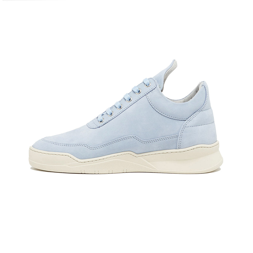 Filling Pieces Low Top Ghost Lane Sky Blue Left
