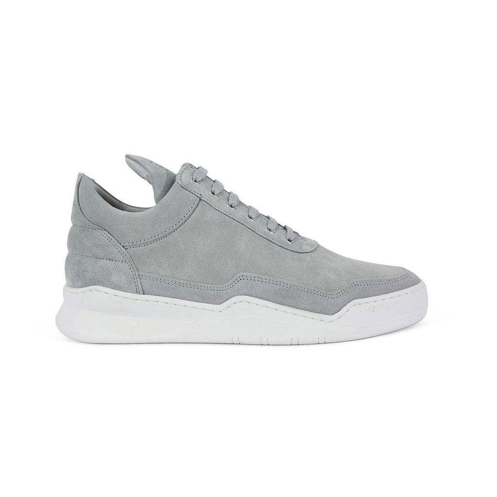Low Top Ghost Suede Cement Grey