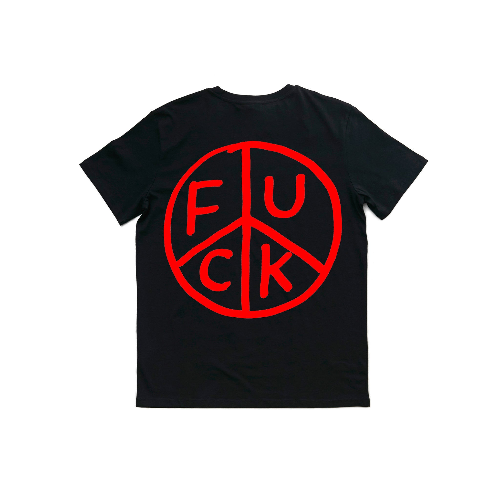 Fuck Tee Egyboy T-Shirt Black Back