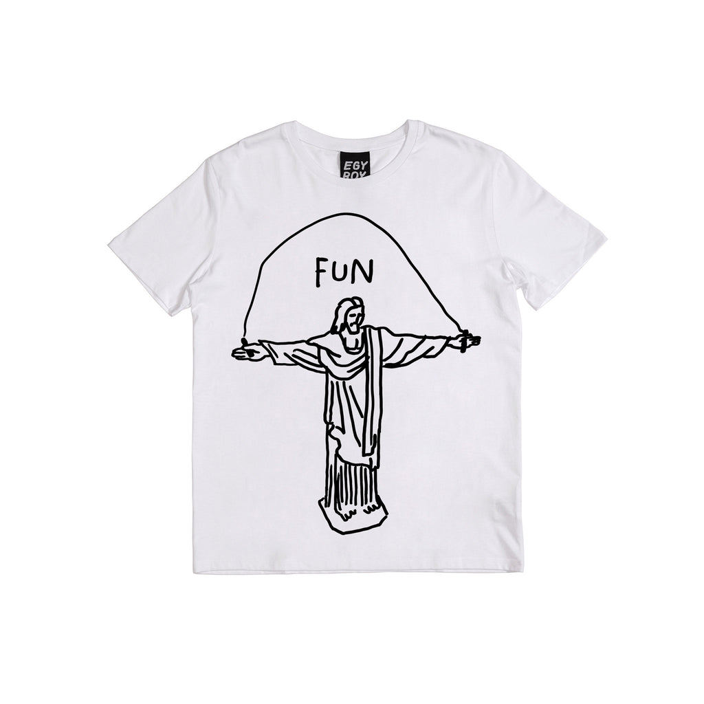 Fun Tee Egyboy T-Shirt White