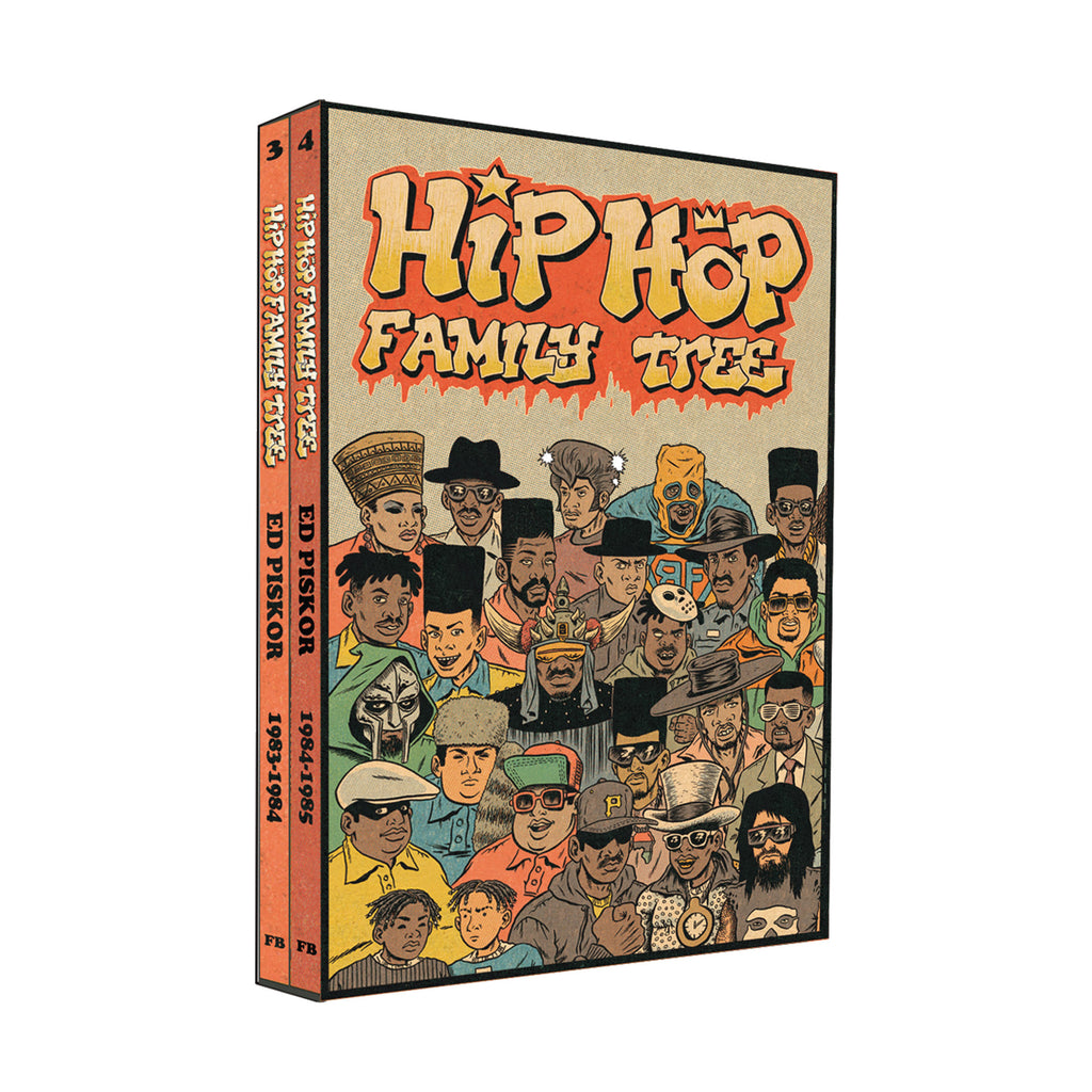 Hip Hop Family Tree Vols 3-4: 1983-1985 Gift Box Set