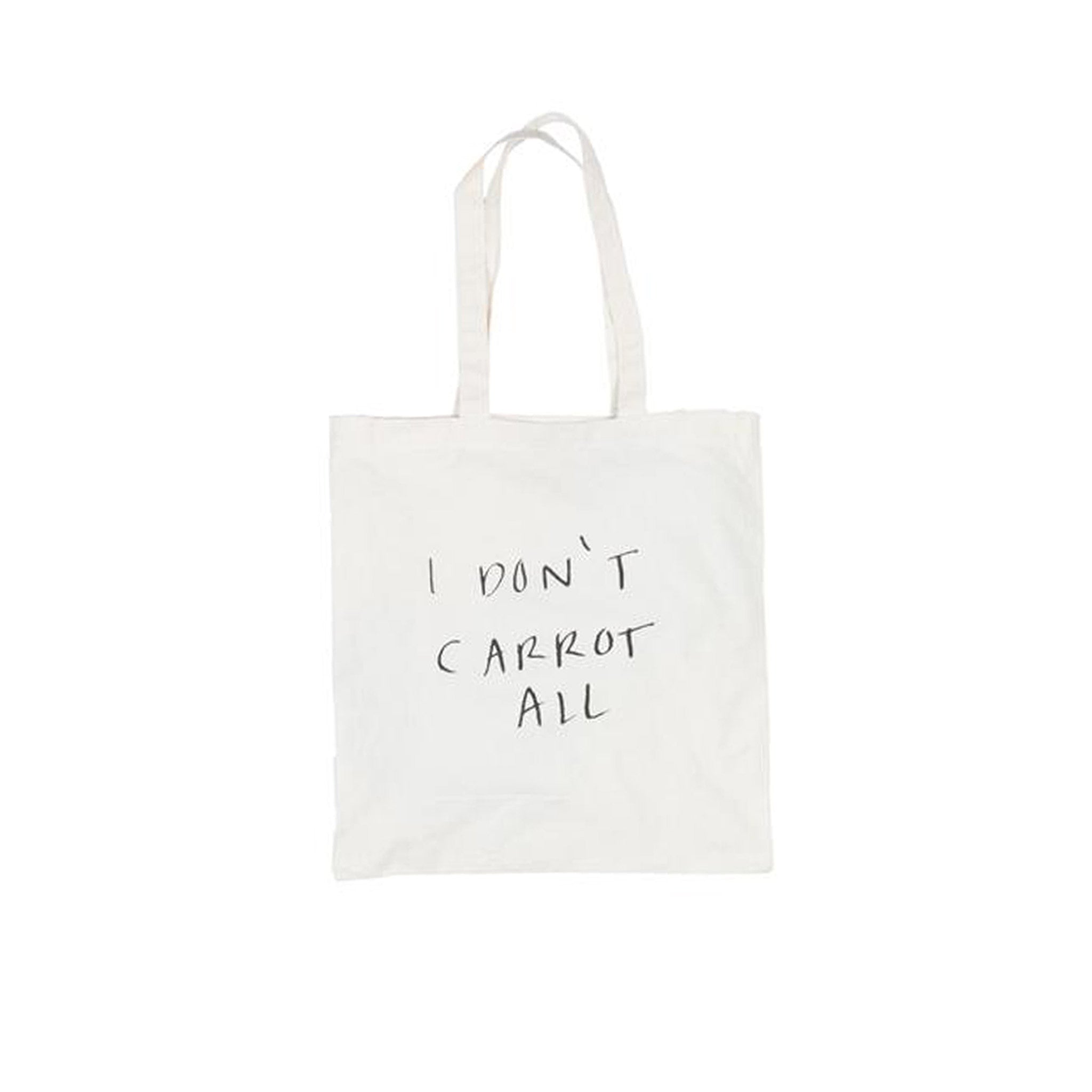 I Don't Carrot All Tote Bag Carrots by Anwar Carrots Back View