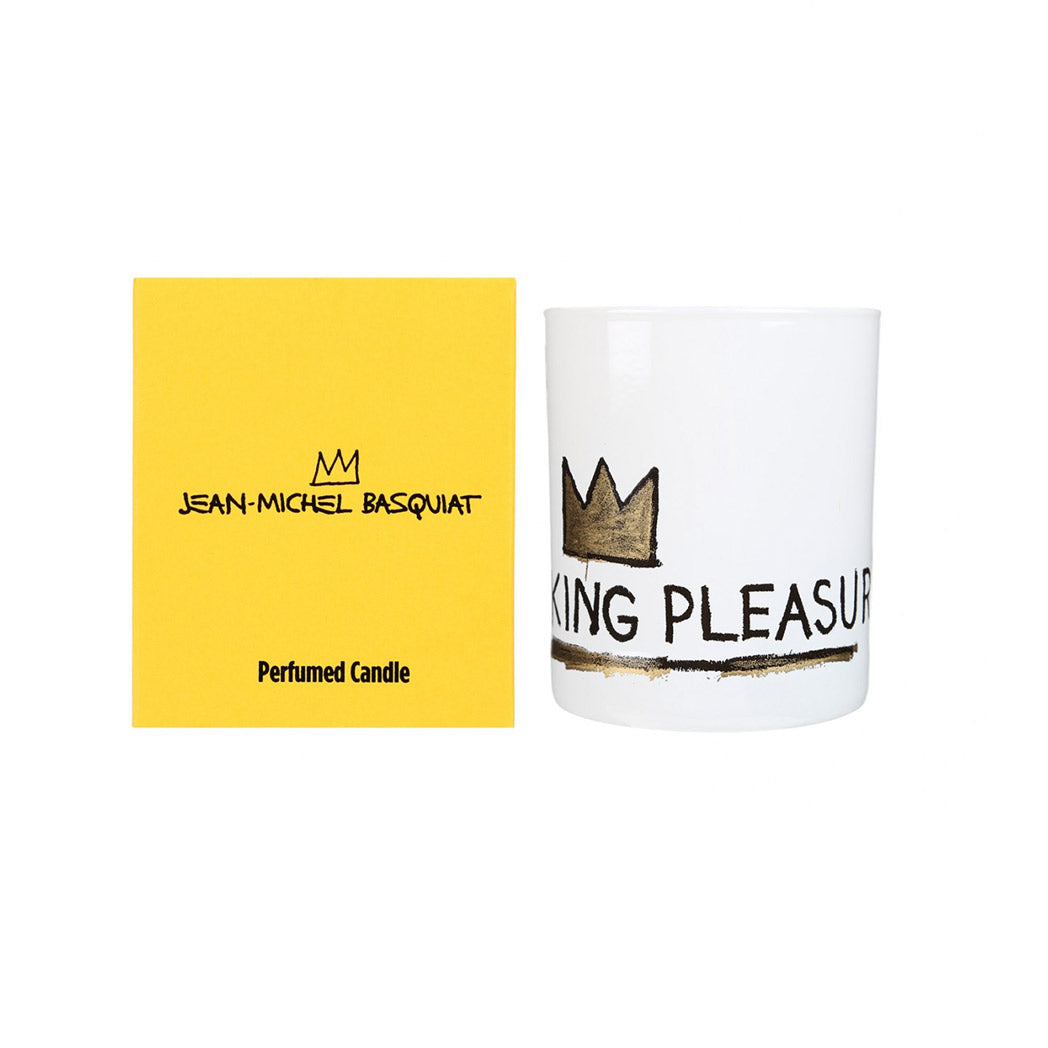"LIGNE BLANCHE X BASQUIAT SCENTED CANDLE ""KING PLEASURE"""
