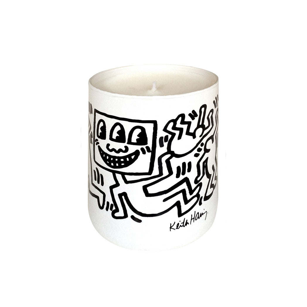 LIGNE BLANCHE X KEITH HARING WHITE SCENTED CANDLE