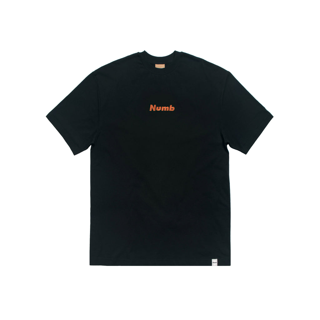 Logo T-Shirt Numb Midnight Black Front View