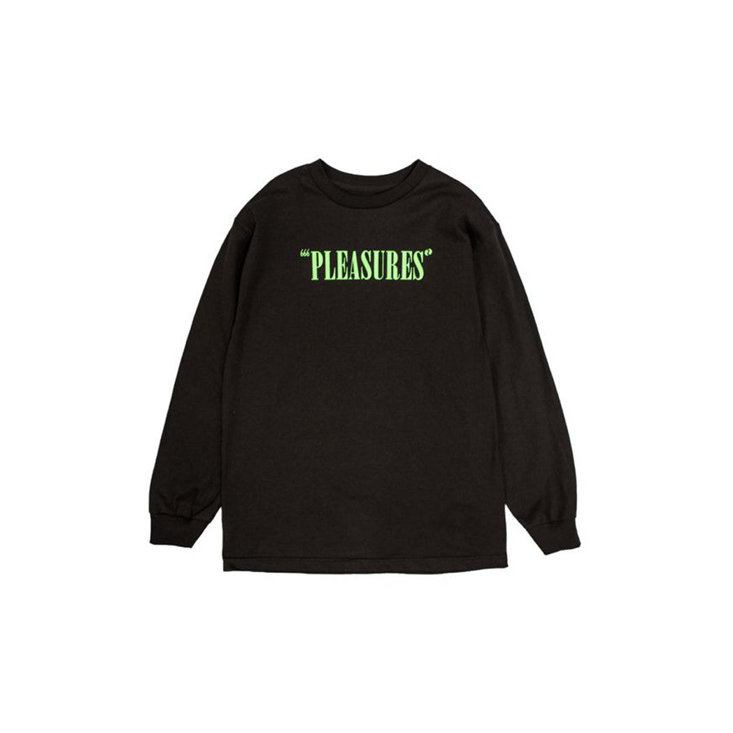 Mark of The Beast Long Sleeve Pleasures Black Front