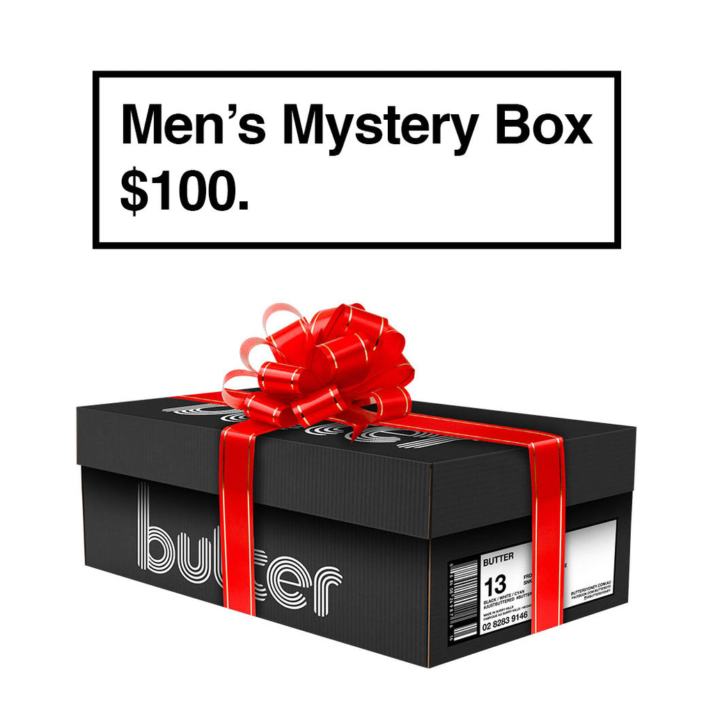 BUTTER'S MYSTERY BOX (MENS) - $100
