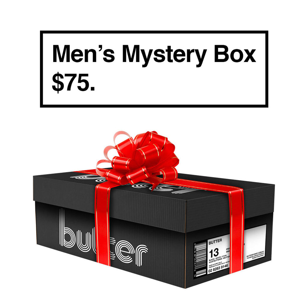 BUTTER'S MYSTERY BOX (MENS) - $75