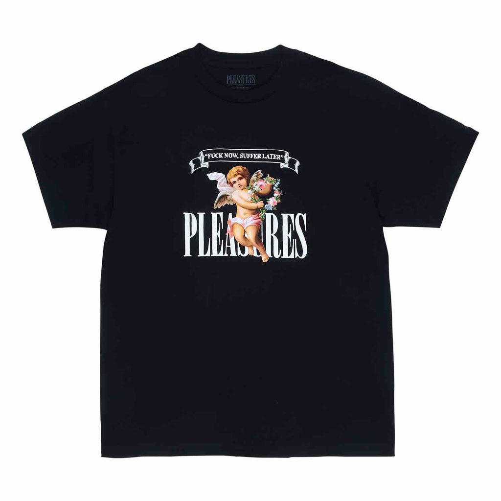 PLEASURES SUFFER T-SHIRT BLACK