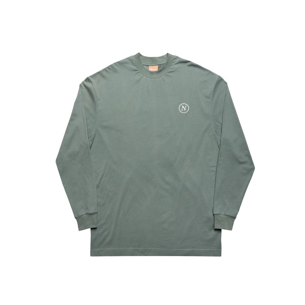 Numb Arts Programme Long Sleeve Sage Green Front