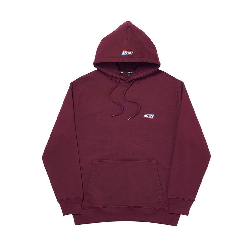 BASICALLY A HOOD BURGUNDY