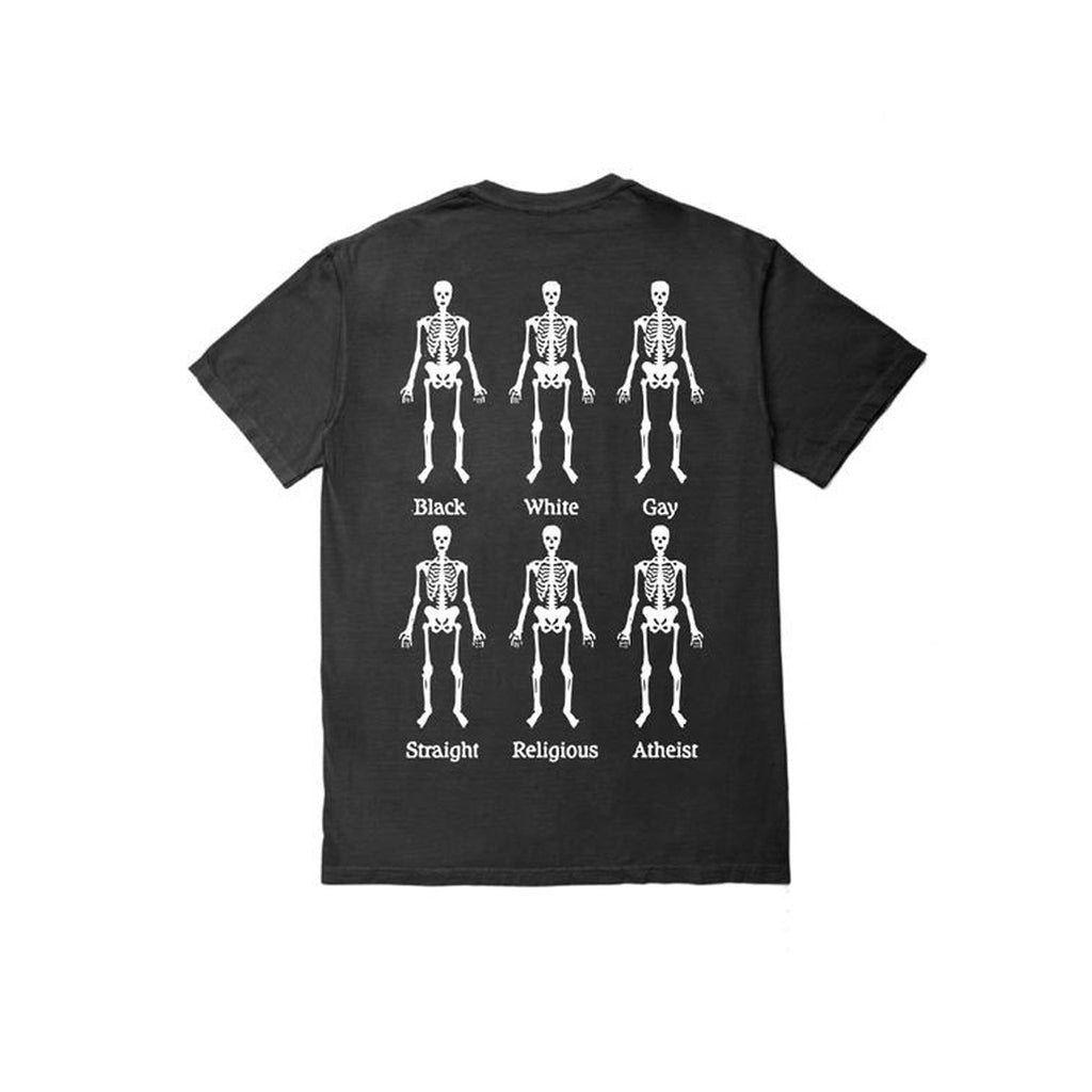 Pleasures Bones T-Shirt Black Back