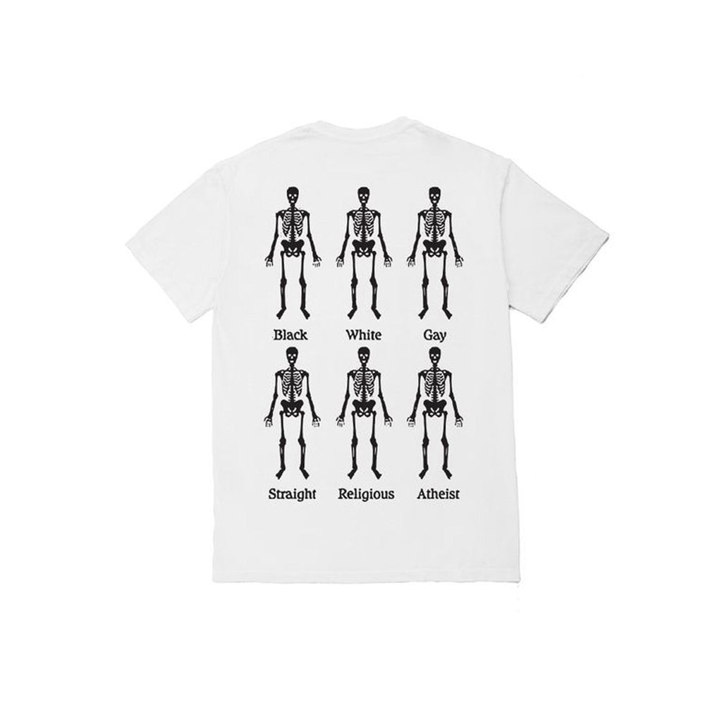 Pleasures Bones T-Shirt White Back