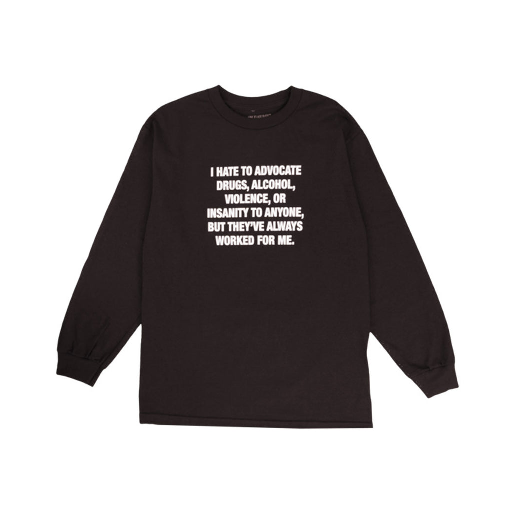 Pleasures LSD Long Sleeve Front