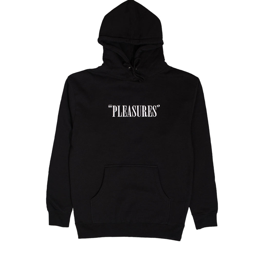 CORE LOGO EMBROIDERED HOODY