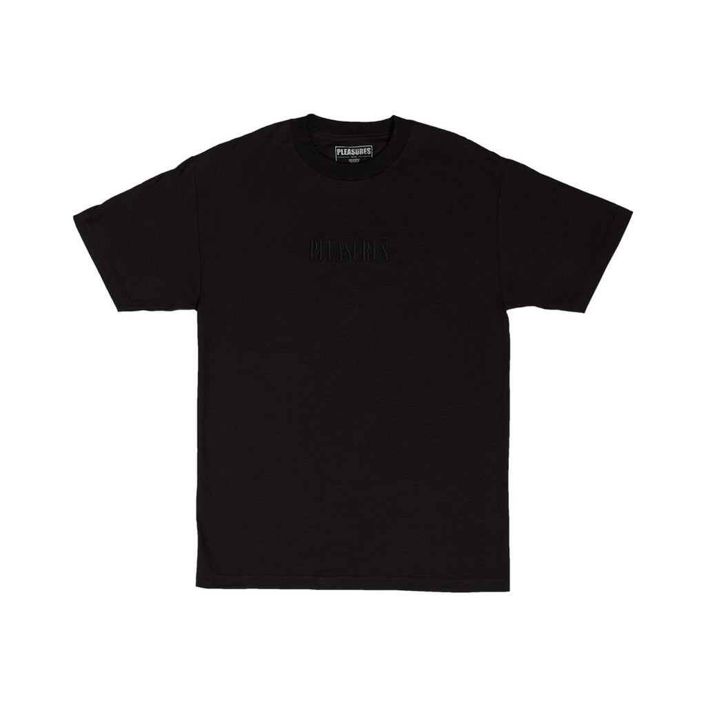 CORE LOGO EMBROIDERED T-SHIRT BLACK