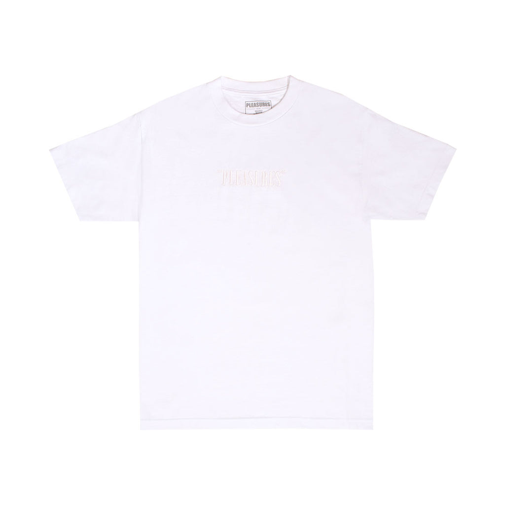 CORE LOGO EMBROIDERED T-SHIRT WHITE