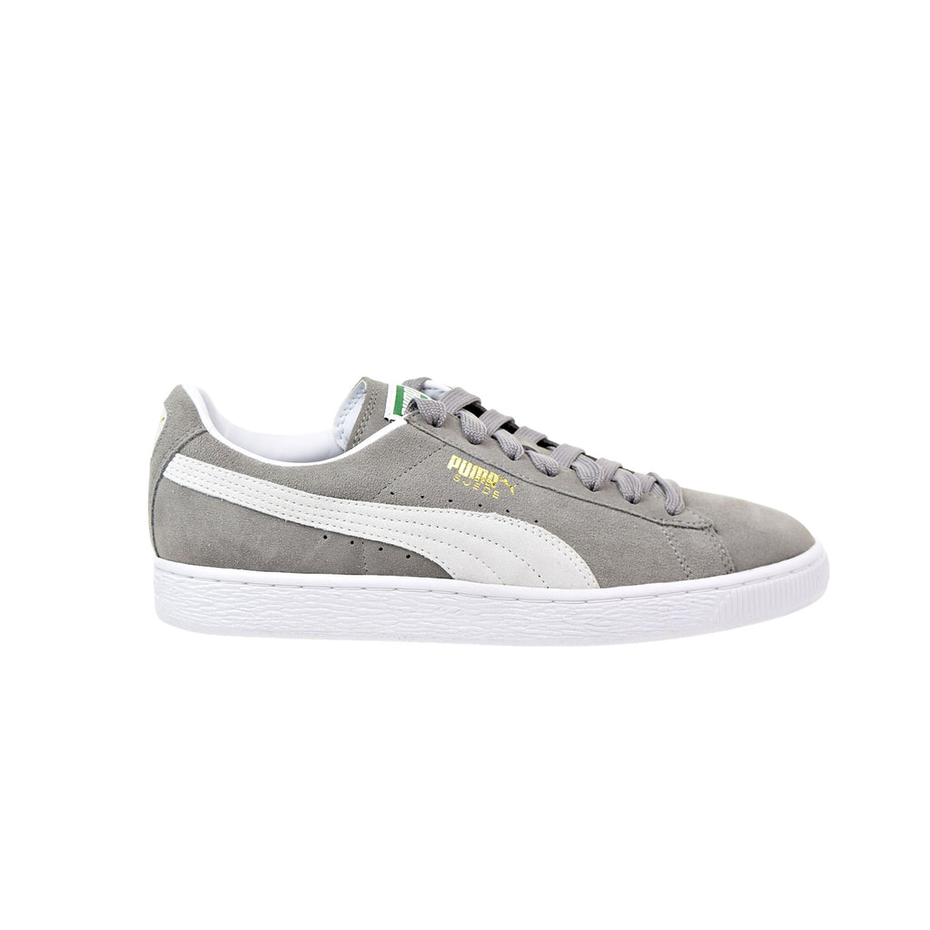 Suede Classic+ Steeple Grey/White