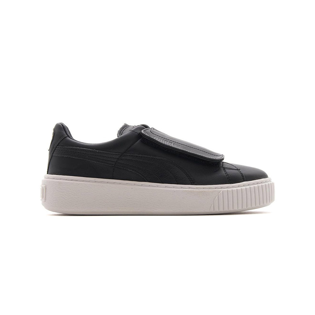 Puma Women's Basket Platform Strap Puma Black Side