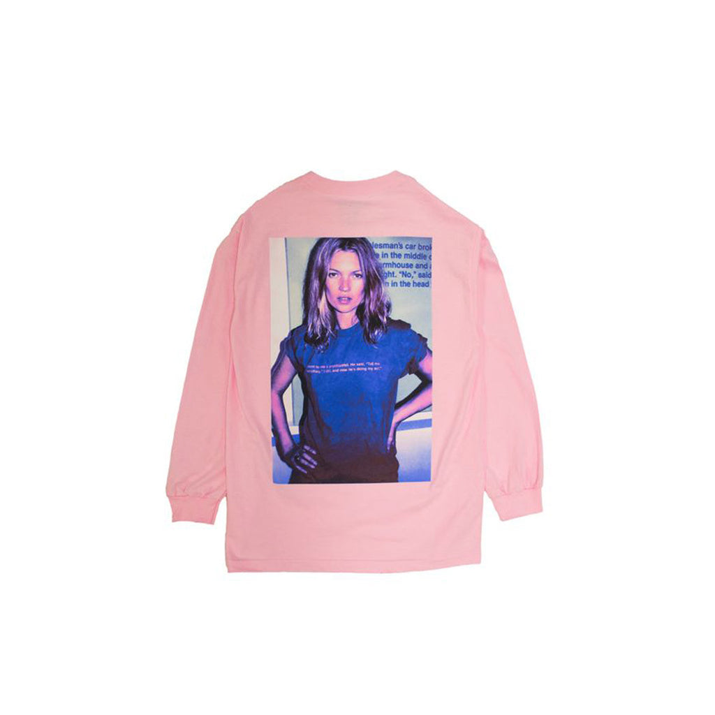 PUNCHLINE LONG SLEEVE SHIRT PLEASURES PINK