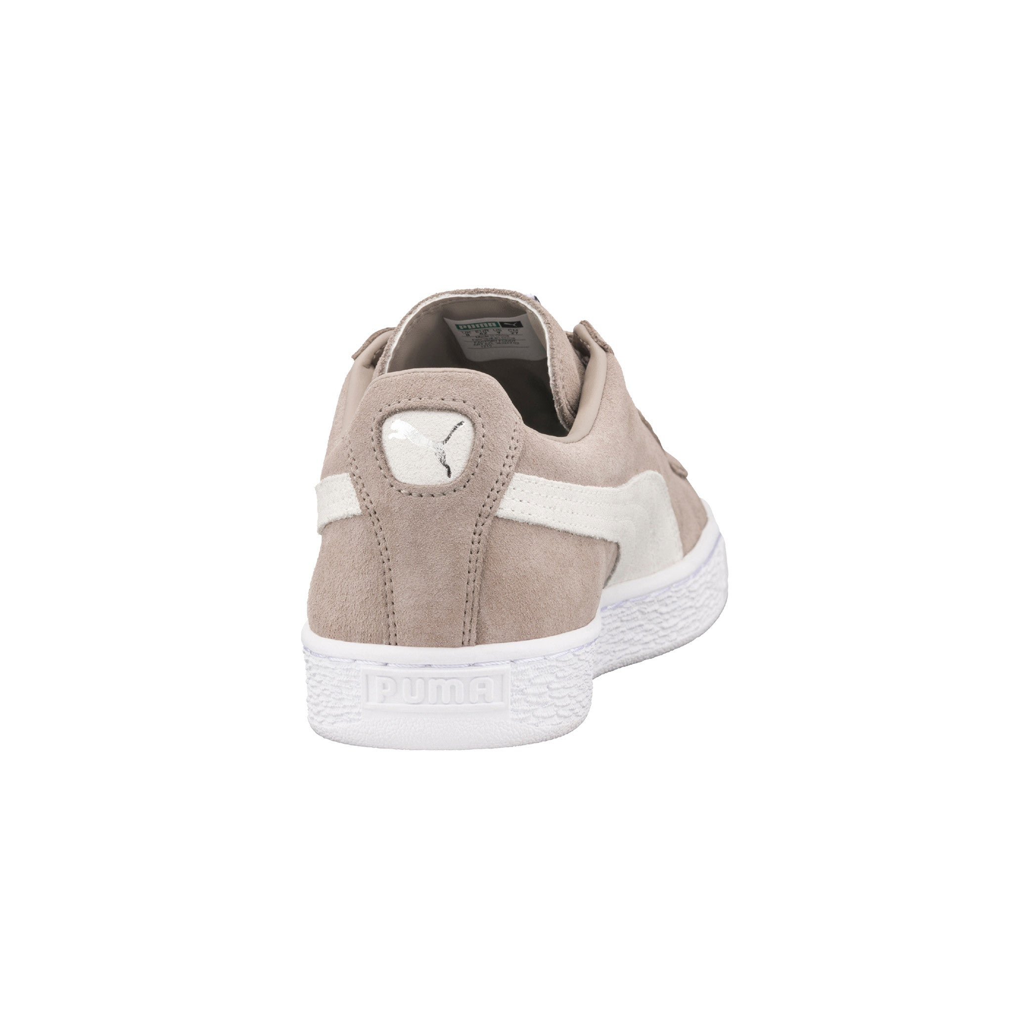 Suede Classic Puma Sneakers Beige Back View