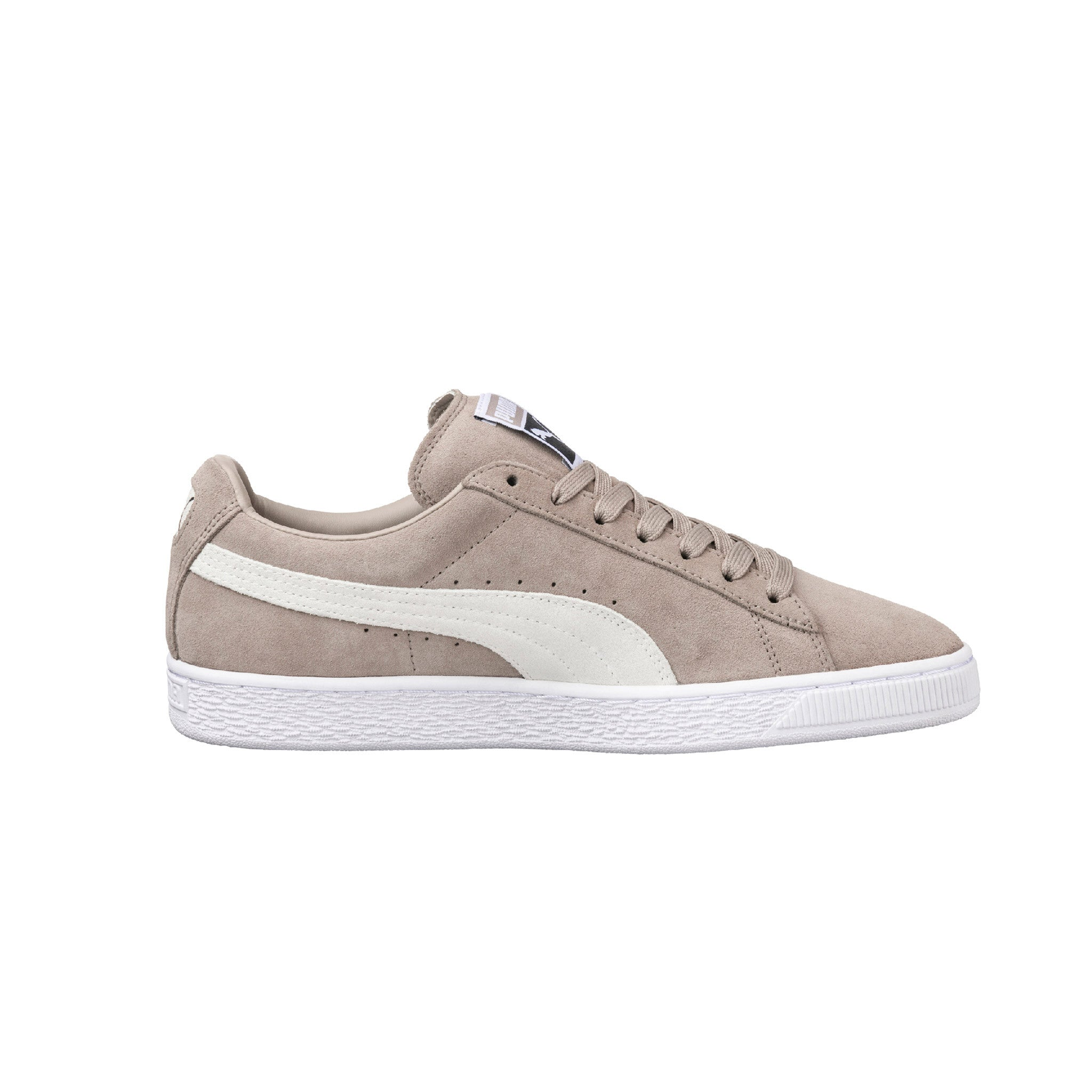 Suede Classic Puma Sneakers Beige Side View