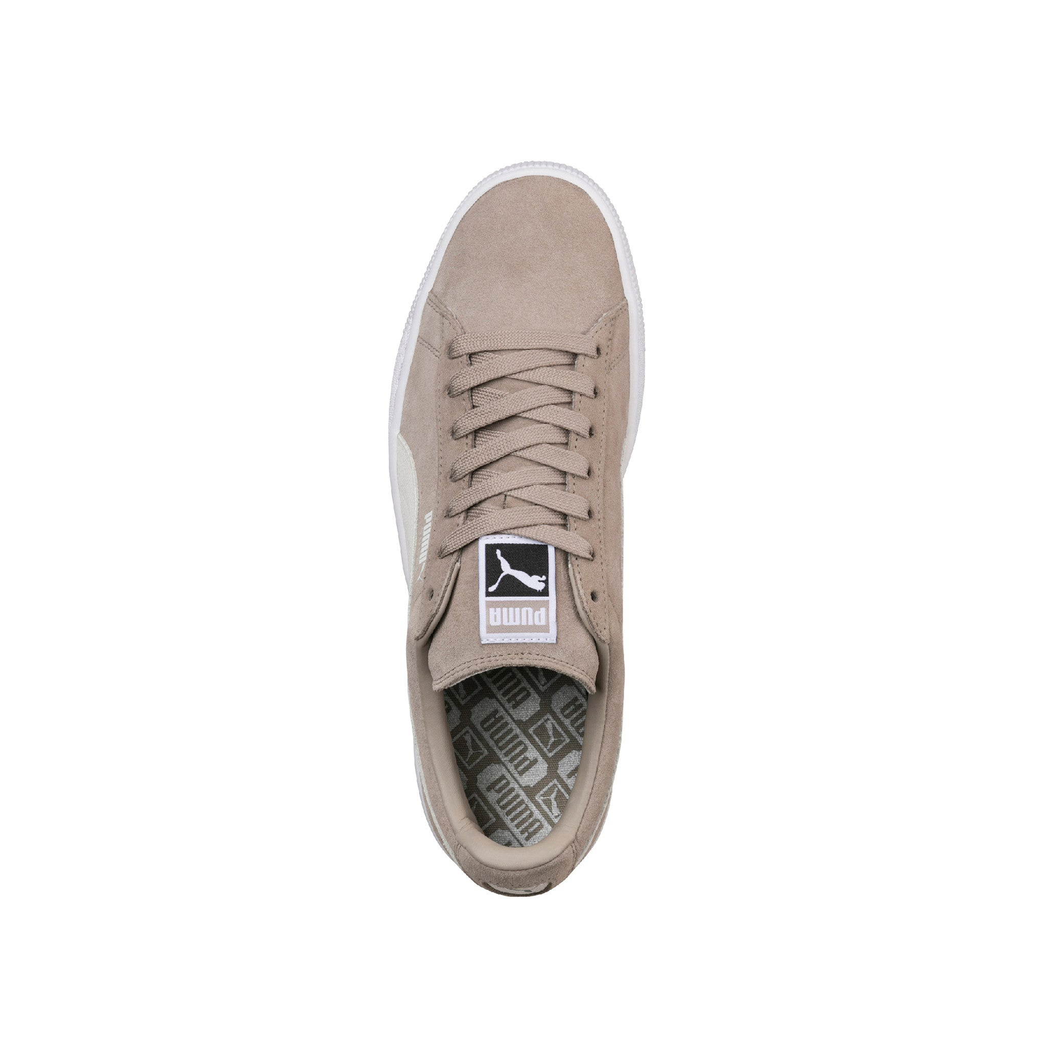 Suede Classic Puma Sneakers Beige Top View