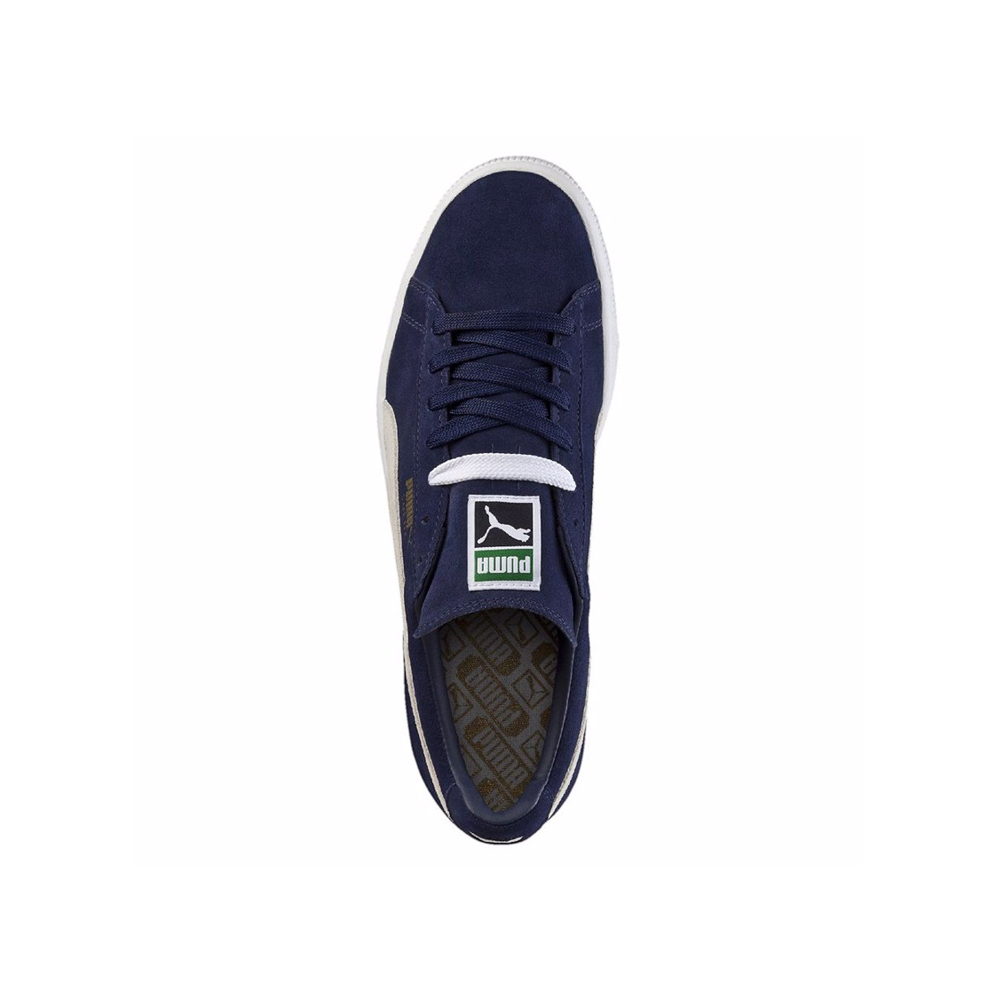 Suede Classic Puma Sneakers Peacoat Top View