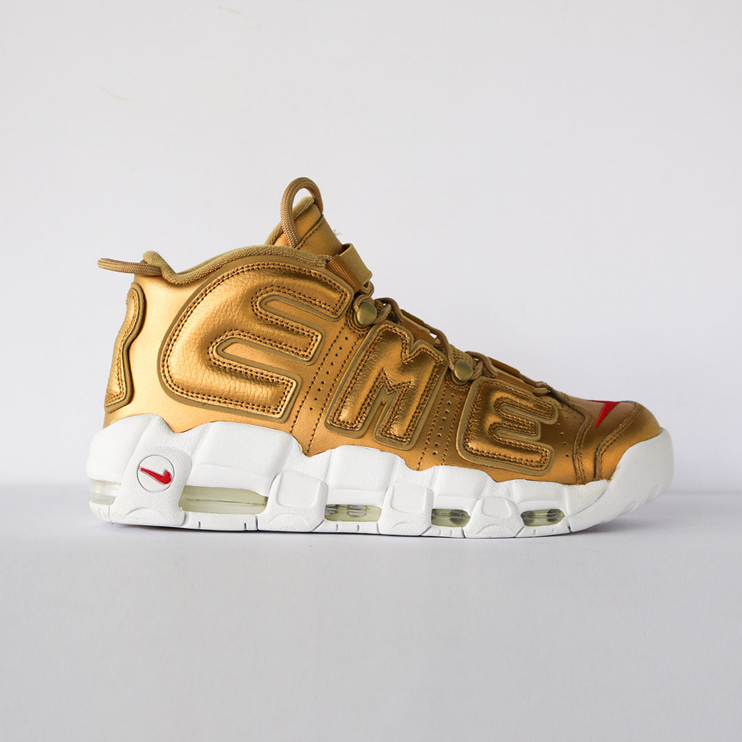 "Supreme x Air More Uptempo ""Suptempo"" Gold"