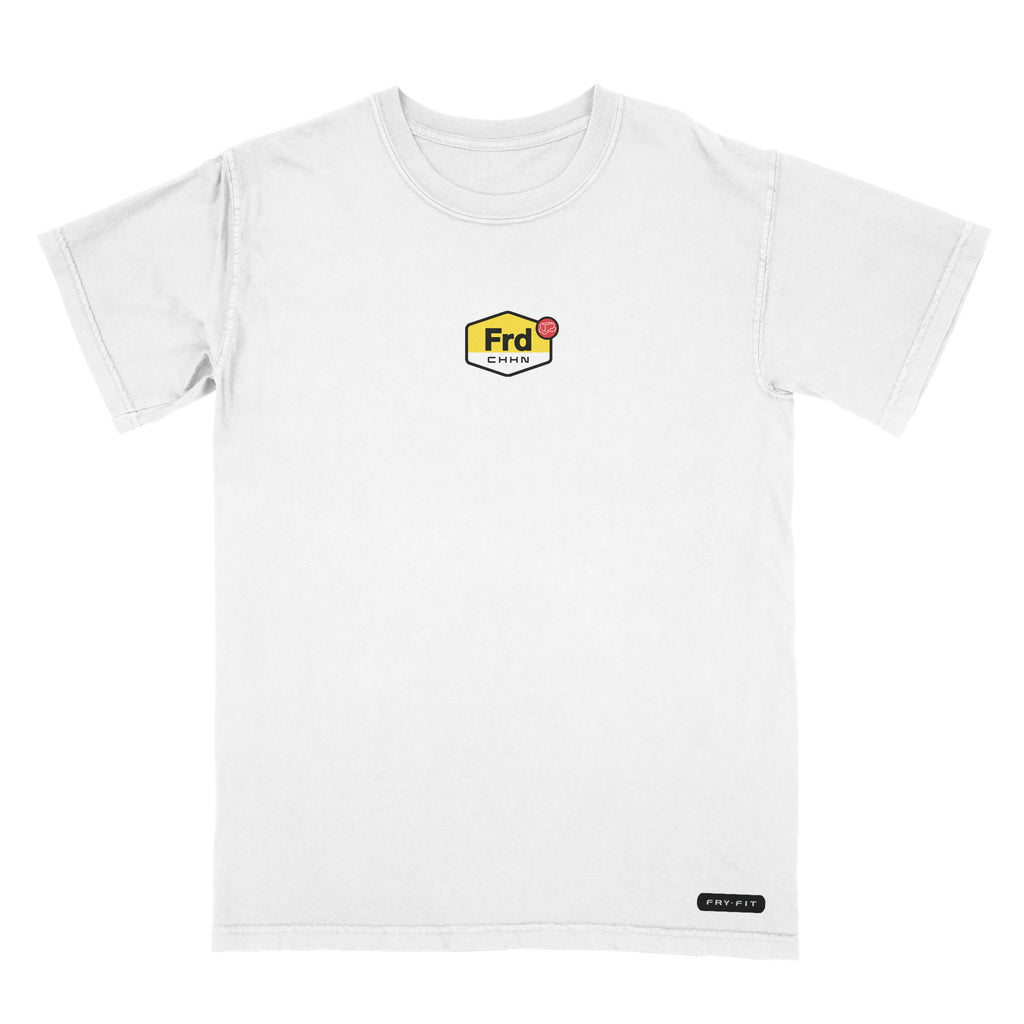 BUTTER FRY-FIT FRDCHKN TUNED T-SHIRT WHITE