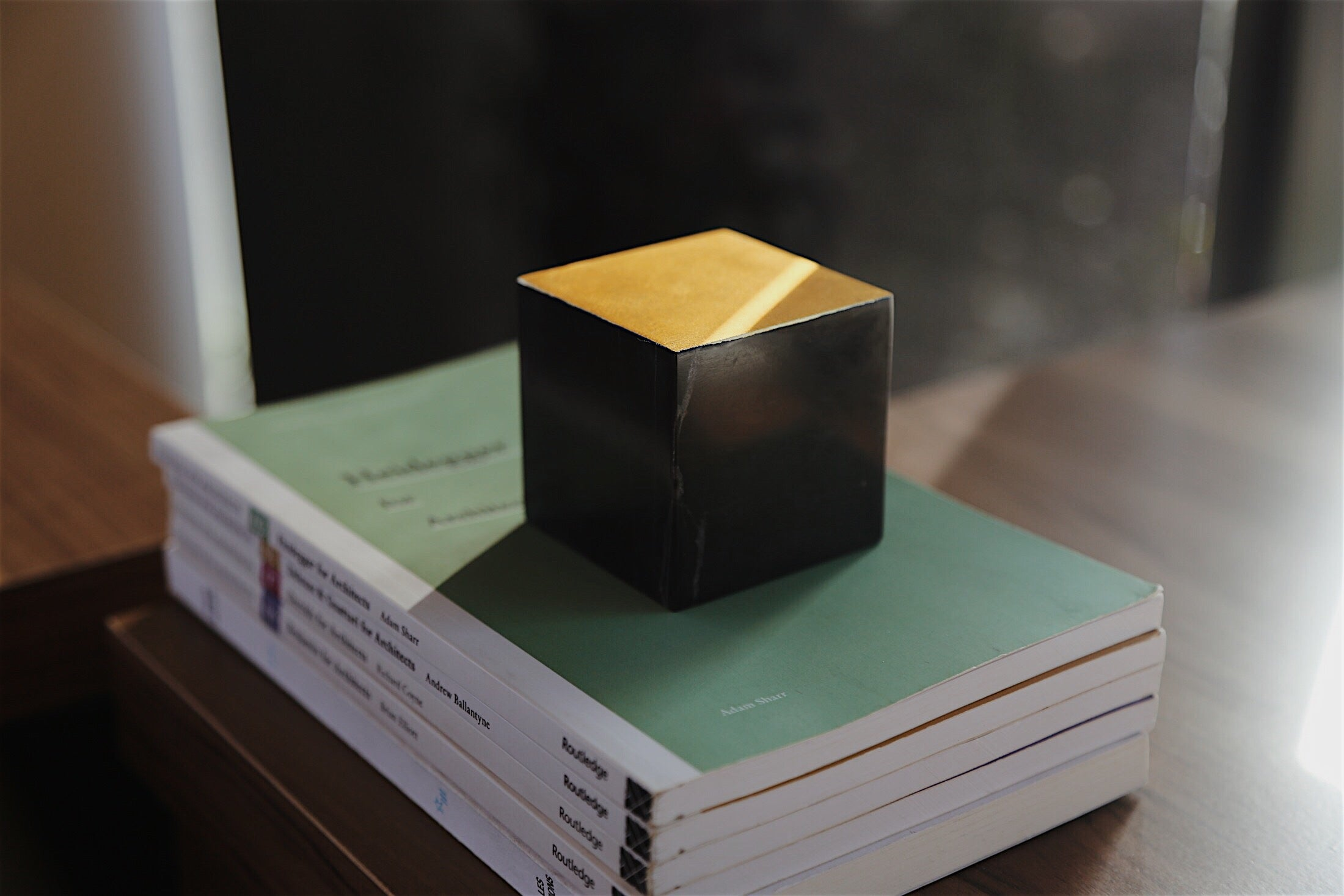 Gold Cut Paper Weight Tala Noir